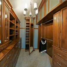 Traditional Closet by Christa Young - TY Design