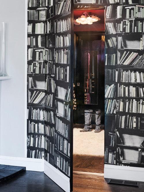 Hidden Door Bookcase Closet | Houzz