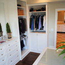 Traditional Closet by Will Johnson Building Company