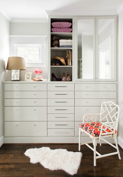 Contemporary Closet by TerraCotta Properties