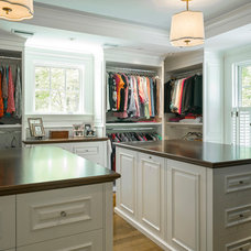Traditional Closet by Jan Gleysteen Architects, Inc