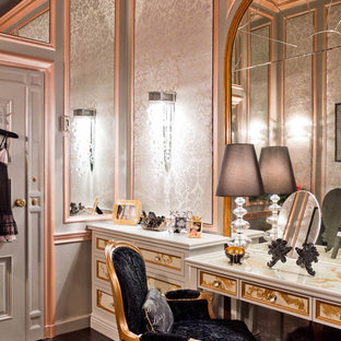 This is an example of a victorian women's dressing room in New York.