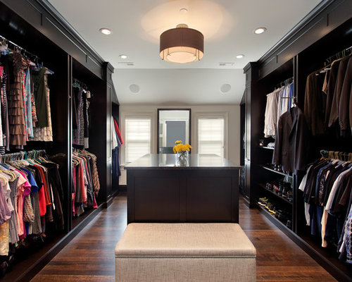 Walk in closet home design ideas pictures remodel and decor for His and hers walk in closet
