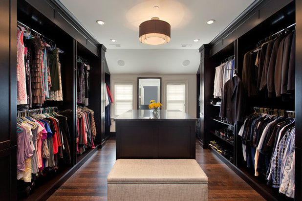 Transitional Wardrobe by Abruzzo Kitchen & Bath