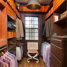 Traditional Closet by TY LARKINS INTERIORS