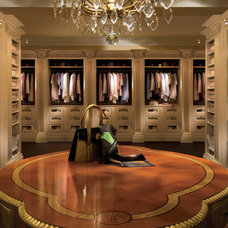 Traditional Closet by Clive Christian San Francisco