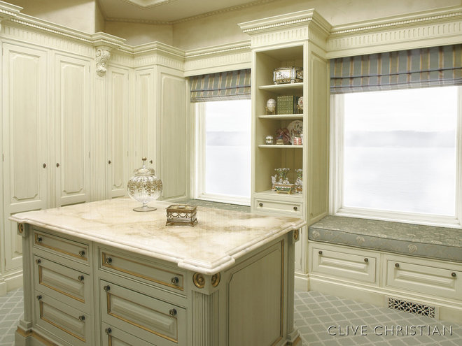 Traditional Closet by Hungeling Design, LLC