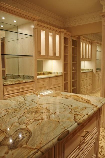Traditional Closet by Cornerstone Kitchen & Bath