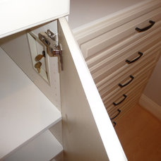Contemporary Closet by Tailored Living feat PremierGarage of Northern VA