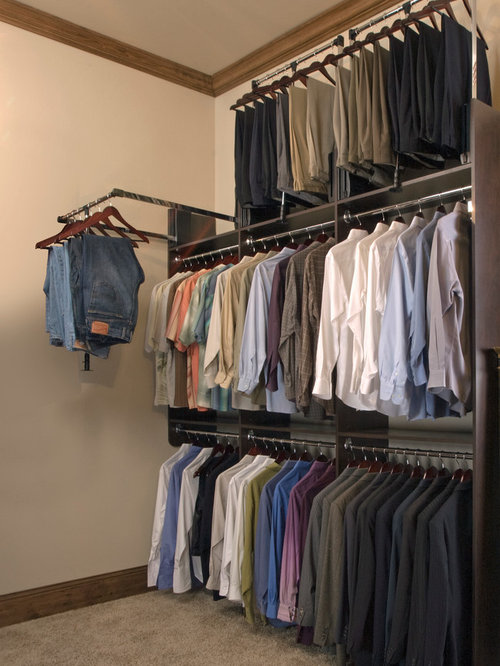 Exceptional Minimalist Closet Photo In Vancouver