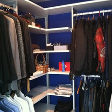 Contemporary Clothes And Shoes Organizers by Closet Solutions