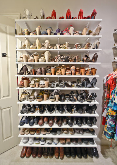 Traditional Closet by Organized Living