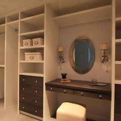 traditional closet by Arts Custom Woodcrafting Inc.