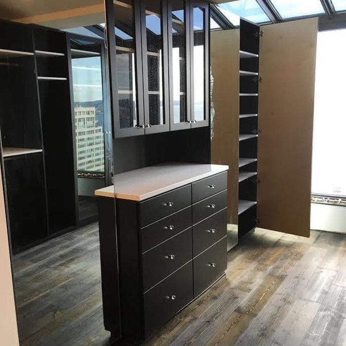 Closet- Black Cabinetry