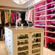 Contemporary Closet by Canon & Company
