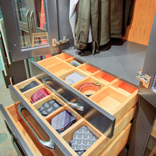 Traditional Closet by Elmwood Fine Custom Cabinetry