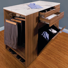 Contemporary Clothes And Shoes Organizers by transFORM | The Art of Custom Storage