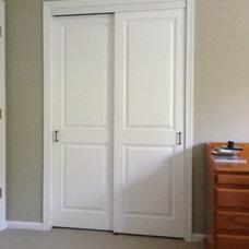 Traditional Closet by Kestrel Shutters & Doors
