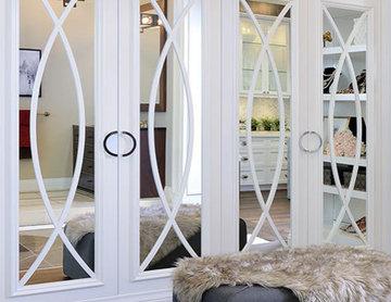 Closet Doors with mirrors