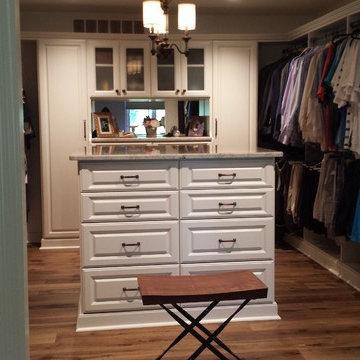 Closet/Dressing room dream space