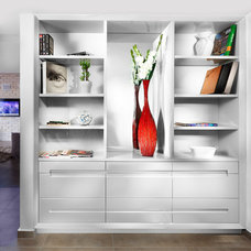 Contemporary Closet by Elad Gonen