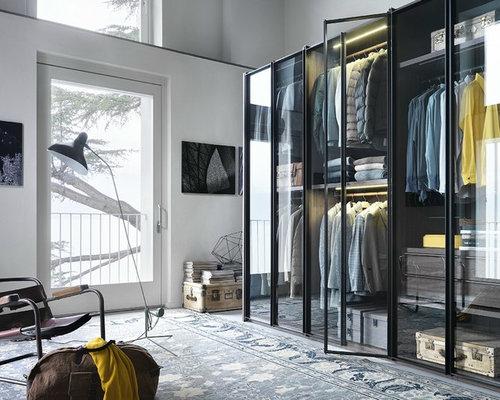 Vetrata Per Cabina Armadio : Foto e idee per cabine armadio cabine armadio moderne con ante