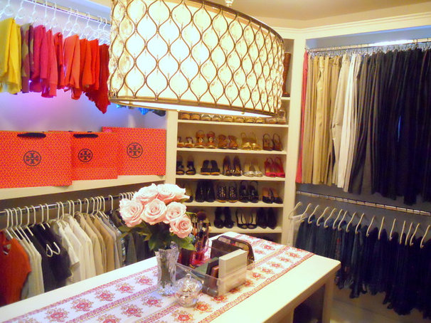 Contemporary Closet by Honey We're Home