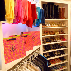 Modern Closet by Honey We're Home