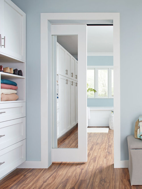 Pocket Doors Closet Design Ideas, Remodels & Photos