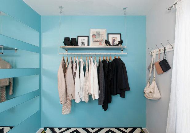 Contemporary Closet by Jerrica Zaric Interior Design, LLC