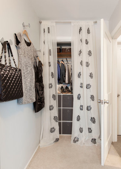 Contemporary Closet by Jerrica Zaric Interior Design, LLC