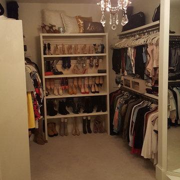Closet Makeover - McLean, VA