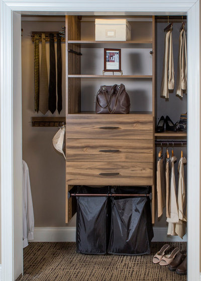 Traditional Wardrobe by Closet Concepts