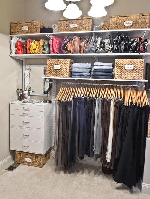 Maximize Closet Space Design Ideas Remodel Pictures Houzz
