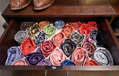 10 Ways to Store That New Father's Day Tie