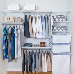 Photo of a modern storage and wardrobe in Cincinnati.