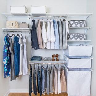 Inspiration for a modern closet remodel in Cincinnati