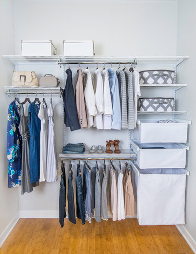 Modern Closet by Organized Living