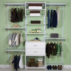 Contemporary Closet by Organized Living