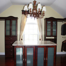 Traditional Closet by Solid Wood Closets, Inc.