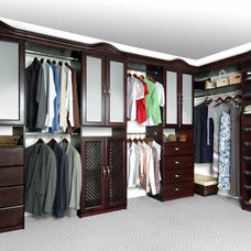 Traditional  by Solid Wood Closets, Inc.