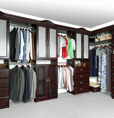 modern closet organizers by Solid Wood Closets, Inc.
