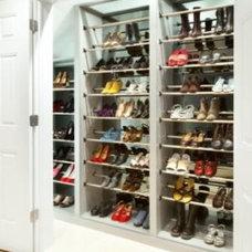 Contemporary Closet by Closet Organizing Systems