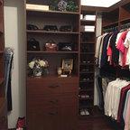 Master Bedroom Closet Traditional Closet Chicago