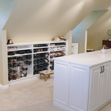 Traditional Closet by Closets and Cabinetry by Closet City