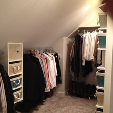 Traditional Closet by Andy Johnston Construction LLC