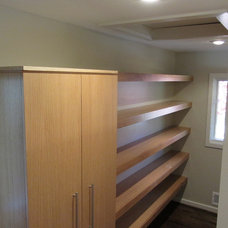 Contemporary Closet by Byrne Custom Woodworking Inc