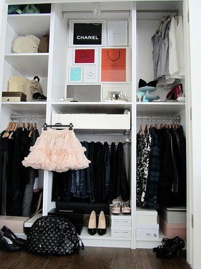 Eclectic Closet closet space