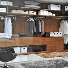 Modern Closet by Hans Krug Fine European Cabinetry