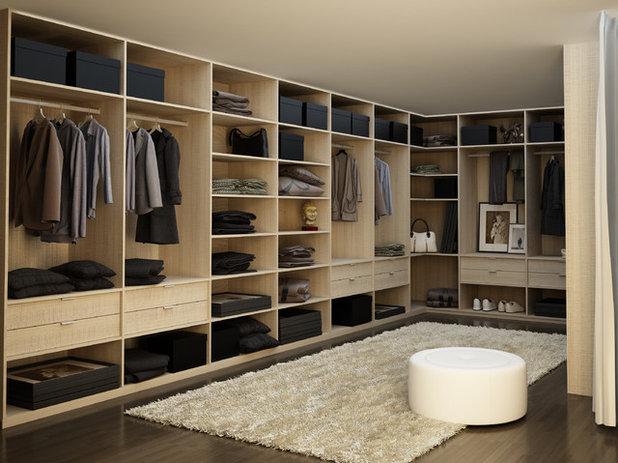 Modern Wardrobe by Hans Krug Fine European Cabinetry